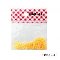FIMO-C-41Фигурки FIMO в форме бабочек желто-оранжевого цвета.