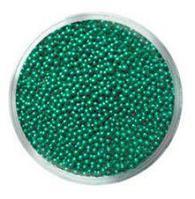 Бульонки № 320 TINY SEVERINA (зелёные, непрозрачные)