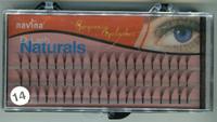 Ресницы пучковые в панеле безузелковые D-Lash Naturals №14