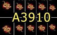 A3910 Фотодизайн -Змея с драгоценными камнями