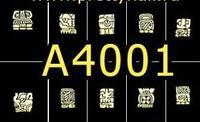 A4001 Фотодизайн - Древние иероглифы Майя
