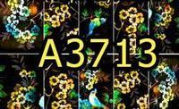 A3713 Фотодизайн - Птица в желтых цветах