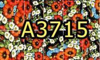 A3715 Фотодизайн -Красные полевые цветы