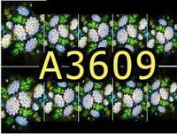 A3609 Фотодизайн - Роспись - пионы на черном