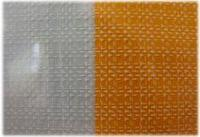 FLC-98 Фольга 100х4см (белые узоры на прозрачном фоне)