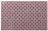 FLC-99 Фольга 100х4см (неоново-розовые кружки на прозрачном фоне)