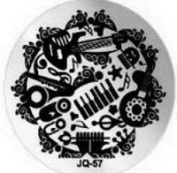 JQ-57 Диск для нейл стемпинга
