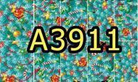 A3911 Фотодизайн - Голубая Новогодняя ель