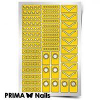 Трафарет для дизайна ногтей PRIMA Nails. Ацтеки и Майя 2