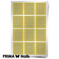 Трафарет для дизайна ногтей PRIMA Nails. Кирпичики-1