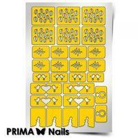 Трафарет для дизайна ногтей PRIMA Nails. Стрела Амура