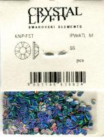 KZG-02 Камифубуки для дизайна ногтей серебро AB 2.0мм
