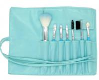 ML-mix-7A Набор искусственных и натуральных кистей в голубом футляре