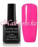 Гель-лак «LACOMCHIR» L115 Кислотный ярко-розовый 10ml.