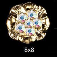 """Украшение Jewelry 3D """"Золотая лилия"""" 8x8"""