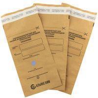 Крафт-пакеты для стерилизации АЛЬЯНС ХИМ самоклеящиеся 100x200 мм (100 штук в упаковке)