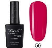 Гель-лак VINSALL №056 10мл. (ярко-розовый эмалевый)
