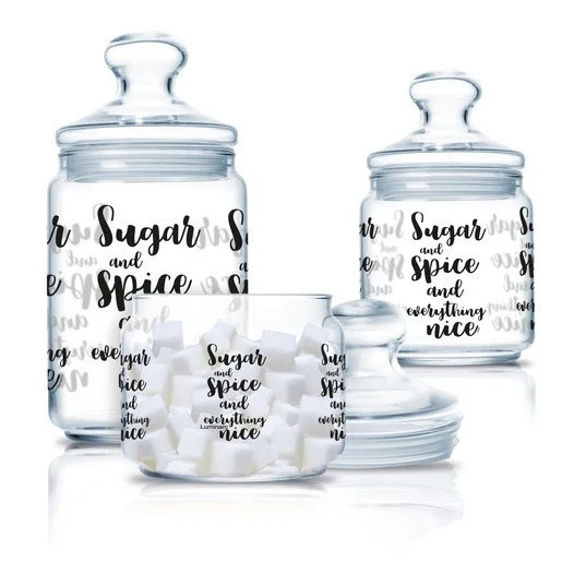 Набор банок для сыпучих Luminarc Sugar spice (3 шт.)