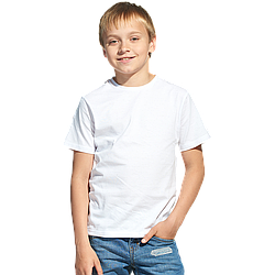 "Футболка ""Джерси 140"" р-р: 26 ""Fashion kid"" цвет: белый"