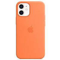 Apple Чехол для iPhone 12 mini Silicone Case with MagSafe - Kumquat аксессуары для смартфона (1316482)