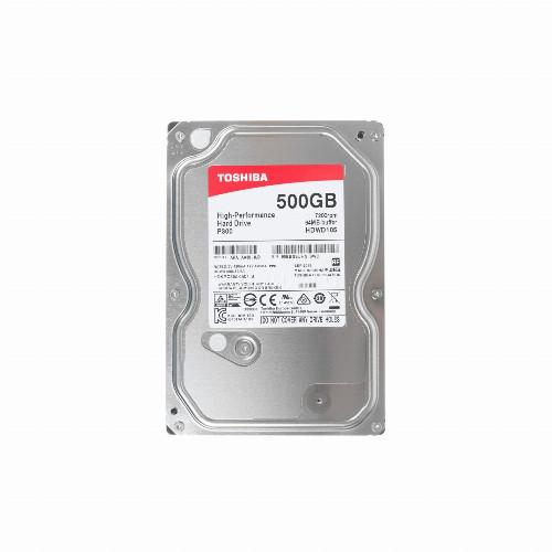 Жесткий диск внутренний Toshiba P300 High-Performance (500Гб, HDD, 3,5″, Для компьютеров, SATA) HDWD105UZSVA