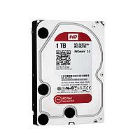 Жесткий диск внутренний Western Digital (WD) Red (1тб (1000Гб), HDD, 3,5″, Для систем хранения (СХД), SATA)