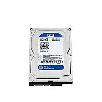 Жесткий диск внутренний Western Digital (WD) WD Blue WD5000AZRZ (500Гб, HDD, 3,5″, Для компьютеров, SATA)