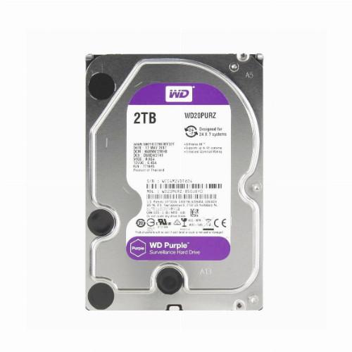 Жесткий диск внутренний Western Digital (WD) Purple  5400RPM (2Тб (2000Гб), HDD, 3,5″, Для видеонаблюдения,
