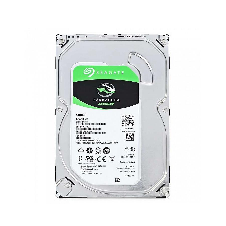 Жесткий диск внутренний Seagate BarraCuda     ST500DM009 (500Гб, HDD, 3,5″, Для компьютеров, SATA) ST500DM009
