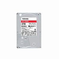 Жесткий диск внутренний Toshiba P300 (3Тб (3000Гб), HDD, 3,5″, Для компьютеров, SATA) HDWD130UZSVA