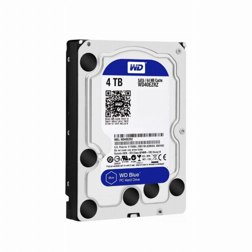 Жесткий диск внутренний Western Digital (WD) Blue  WD40EZRZ (4Тб (4000Гб), HDD, 3,5″, Для компьютеров, SATA)