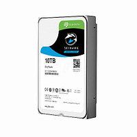 Жесткий диск внутренний Seagate Sky Hawk ST10000VX0004 (10Тб (10000Гб), HDD, 3,5″, Для видеонаблюдения, SATA)
