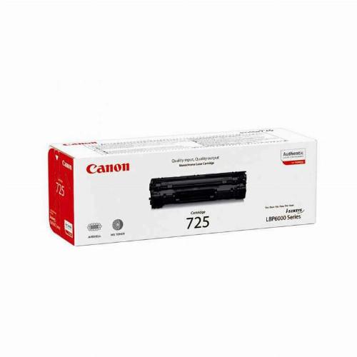 Лазерный картридж Canon 725 (Оригинальный, Черный - Black) 3484B002