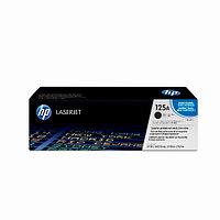 Лазерный картридж HP 125A (Оригинальный, Черный - Black) CB540A