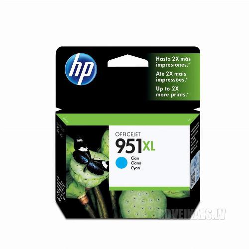 Струйный картридж HP 951XL (Оригинальный, Голубой - Cyan) CN046AE