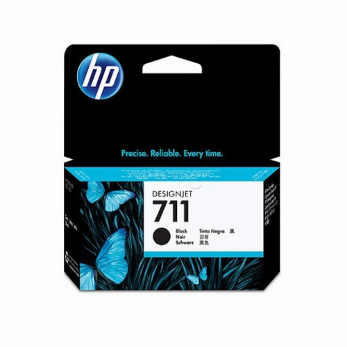 Струйный картридж HP 711 (Оригинальный, Черный - Black) CZ129A