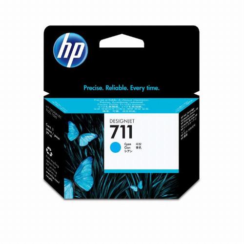 Струйный картридж HP 711 (Оригинальный, Голубой - Cyan) CZ130A