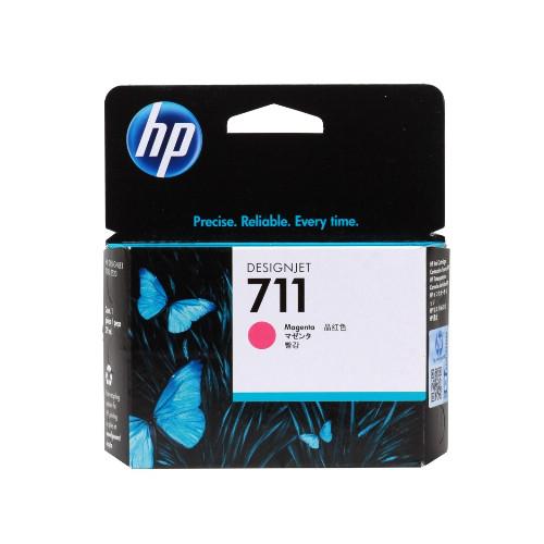 Струйный картридж HP 711 (Оригинальный, Пурпурный - Magenta) CZ131A