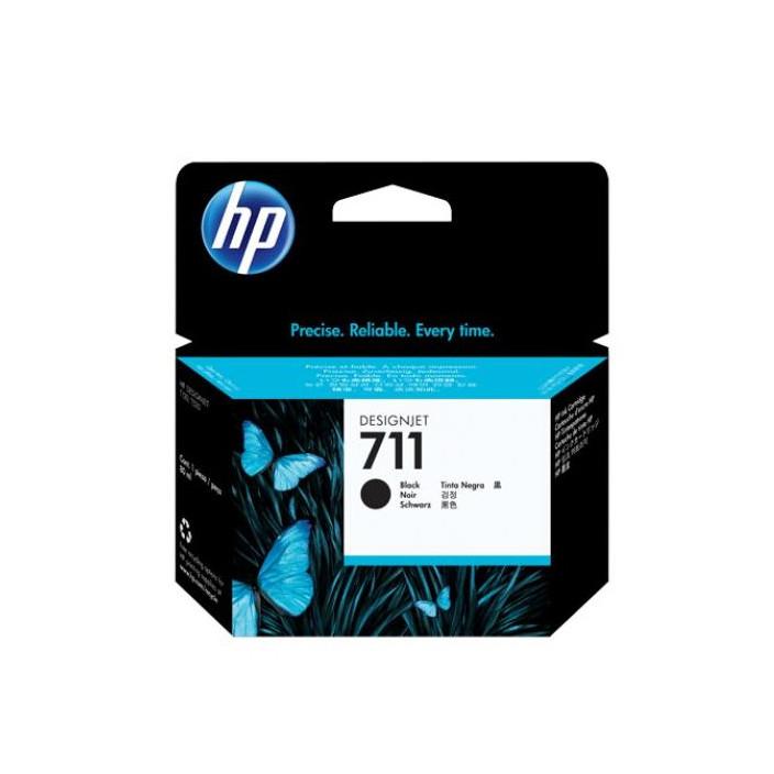 Струйный картридж HP 711 (Оригинальный, Черный - Black) CZ133A