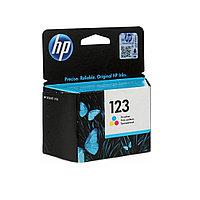 Струйный картридж HP 123 (Оригинальный, Цветной) F6V16AE