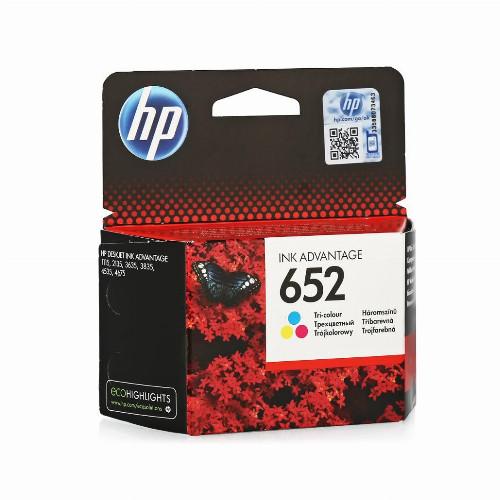 Струйный картридж HP 652 (Оригинальный, Цветной) F6V24AE