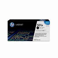 Лазерный картридж HP 501A (Оригинальный, Черный - Black) Q6470A