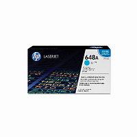 Лазерный картридж HP 648A (Оригинальный, Голубой - Cyan) CE261A