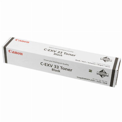 Тонер картридж Canon C-EXV33 (Оригинальный, Черный - Black) 2785B002
