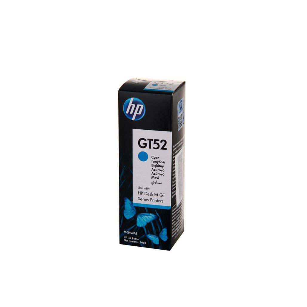 Чернила для печатного оборудования HP GT52 C (Голубой - Cyan) M0H54AE