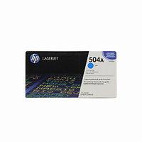 Лазерный картридж HP 504A (Оригинальный, Голубой - Cyan) CE251A