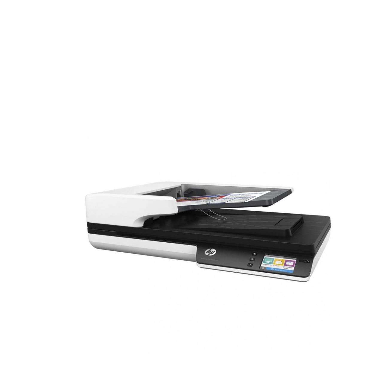 Планшетный сканер HP ScanJet Pro 4500 fn1 (А4, USB, Ethernet) L2749A