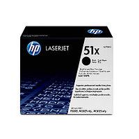 Лазерный картридж HP 51X (Оригинальный, Черный - Black) Q7551X