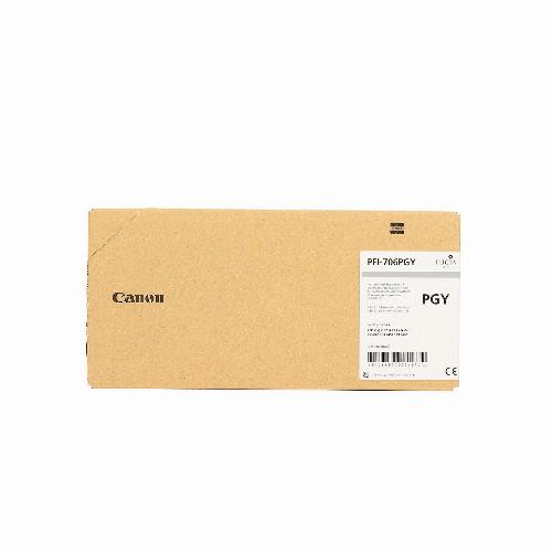 Струйный картридж Canon PFI 706 (Оригинальный, Фото серый - Photo Grey) 6691B001
