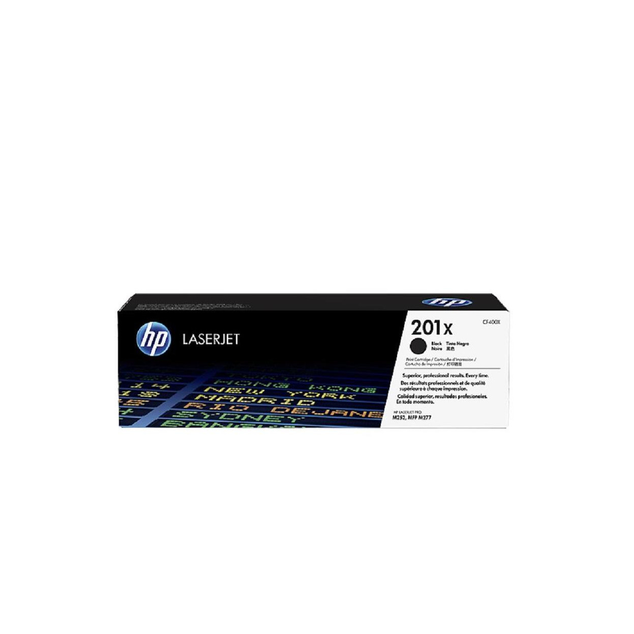 Лазерный картридж HP 201X (Оригинальный, Черный - Black) CF400X